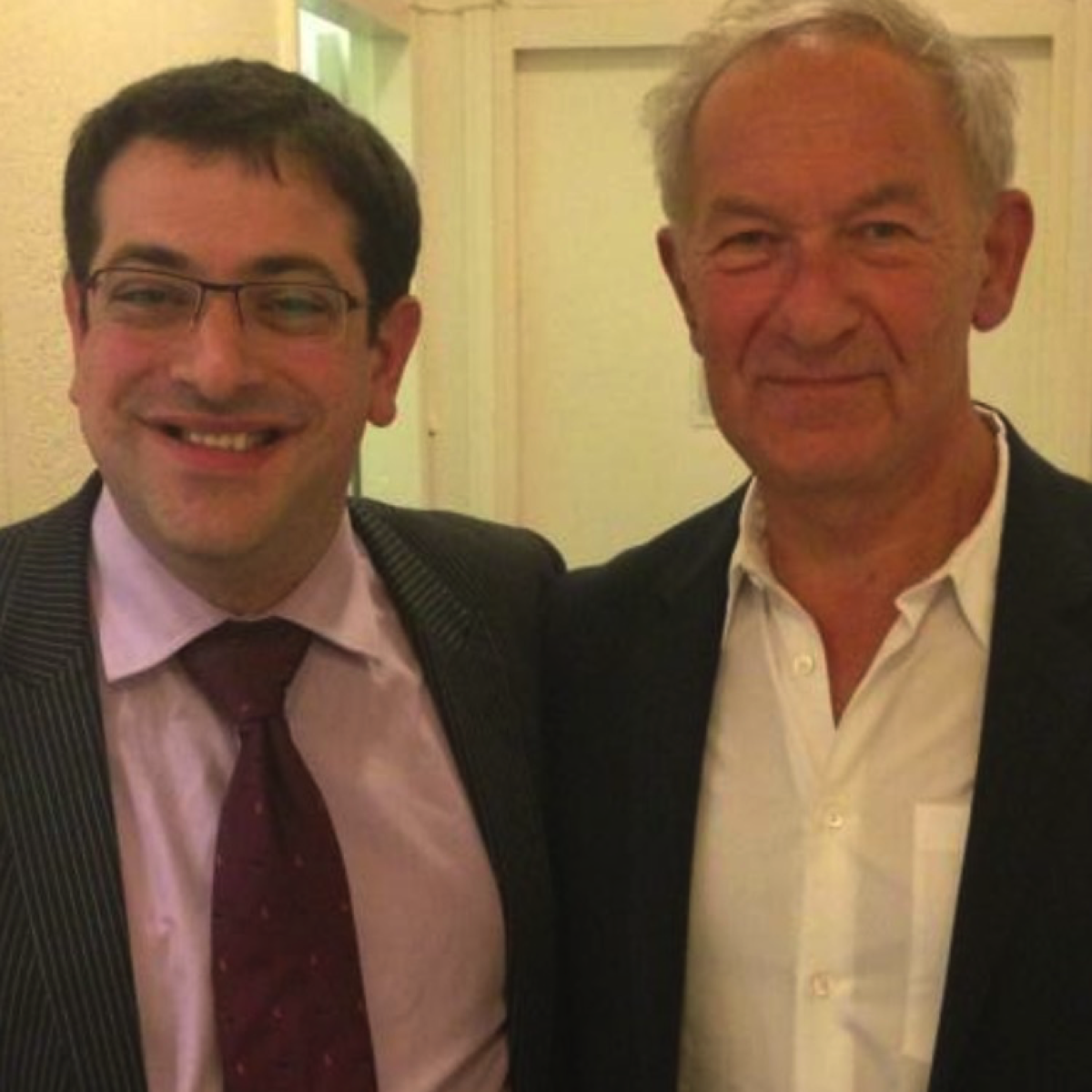 Alexander Goldberg and Simon Schama